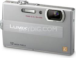 DMC-FP8S LUMIX 12.1 MP Digital Camera (Silver)