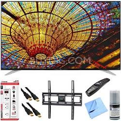 79UF7700 - 79-Inch 240Hz 2160p 4K Smart LED UHD TV Plus Mount & Hook-Up Bundle