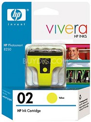 HP 02 Yellow Ink Print Cartridge