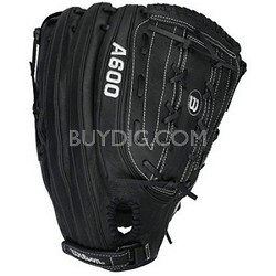 "A600 Slowpitch Glove, 14"" - Left Handed Throw - Black"
