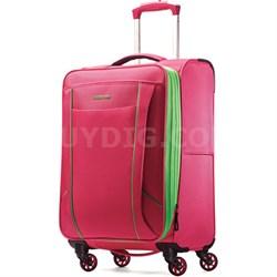 "Skylite 20"" Raspberry / Lime Spinner Luggage"
