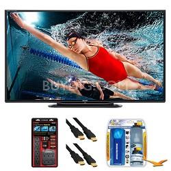 """LC-70LE757U Aquos 70"""" 3D WiFi 240Hz 1080p LED TV Surge Protector Bundle"""