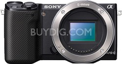 NEX-5R/B Compact Interchangeable Lens Digital Camera (Body Only)