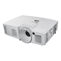 Optoma HD26, HD (1080p), 3200 ANSI Lumens 3D-Home Theater Projector-Factory Refurbished