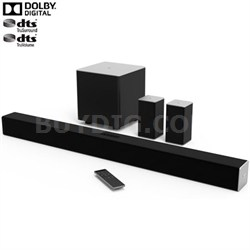 "38"" 5.1ch Bluetooth Sound Bar w/ Wireless Sub & Speakers (Ships in 3-5 Days)"