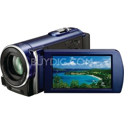 HDR-CX110 HD Handycam Camcorder (Blue)