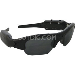 Covert Video Sunglasses with 4GB Micro SD Card