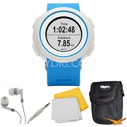 Echo Smart Running Watch Bundle (Blue)