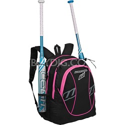 FPEX Softball Equipment and Bat Backpack Bag - Optic Pink