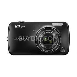 COOLPIX S800c 16MP 3.5 inch LED Digital Camera - Black