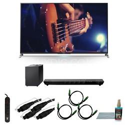 KDL55W950B - 55-Inch Ultimate Smart 3D LED HDTV Motionflow Bundle