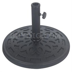 Stone Resin Umbrella Base 30lb