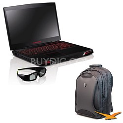 "M17x R3 AM17XR3-6579STB 17.3"" Notebook PC Bundle"