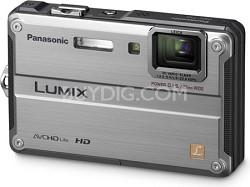 DMC-TS2S LUMIX 14.1MP Waterproof Shockproof Freezeproof Digital Camera (Silver)