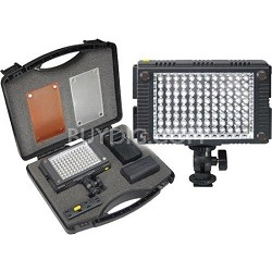 9 Piece Pro Photo/Video LED Light Kit with Diffusers & Case