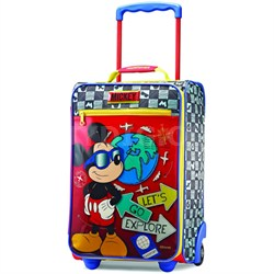 "18"" Upright Kids Disney Themed Softside Suitcase - Luggage (Mickey) 65774-4450"