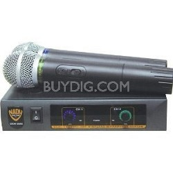 DKW Duo VHF Handheld Wireless Microphone System (Channel B and D)