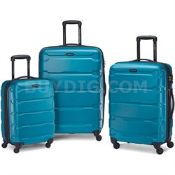 "Omni Hardside Luggage Nested Spinner Set 20""/24""/28"" Caribbean Blue (68311-2479)"