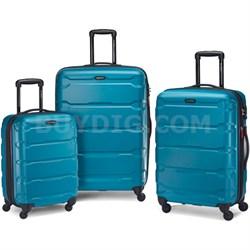 "Omni Hardside Luggage Nested Spinner Set 20""/24""/28"" Caribbean Blue (68311-2479)"