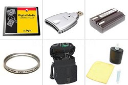 Bargain Accessory Kit for Minolta Dimage A200