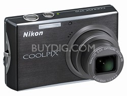 Coolpix S710 Digital Camera (Graphite Black)