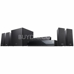 BDVE280 - 5.1 Channel 3D Blu-ray Disc Home Theater System