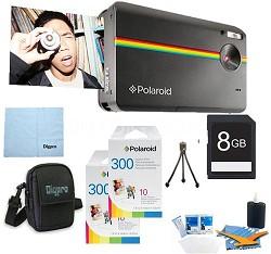 "Z2300 10MP 2x3"" Instant Digital Camera (Black) ULTIMATE Bundle"