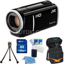 GZ-HM30US Flash Memory Camcorder (Black) - 16 GB Memory Bundle