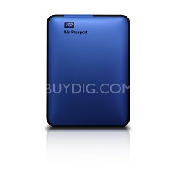 My Passport 500 GB USB 3.0 Portable Hard Drive - WDBKXH5000ABL-NESN (Blue)