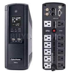 1350VA AVR LCD 120V 12-Outlet Mini Tower - BRG1350AVRLCD