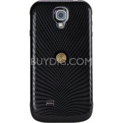 Magnetyze Wireless Protectie Case and Cable for Galaxy S4 - Textured Black