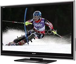 "LC-52D85U - AQUOS 52"" High-definition 1080p 120Hz LCD TV"
