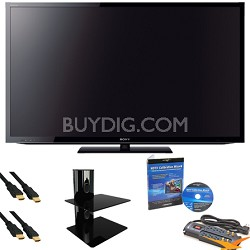 "KDL55HX750 - 55"" 3D Wifi LED with Glass Shelf, Calibration DVD, Cables, More"