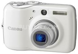Powershot E1 IS Digital Camera (White)