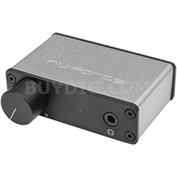 uDAC3 Mobile USB DAC and Headphone Amplifier (Silver)
