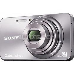 Cyber-shot DSC-W570 16MP Silver Digital Camera - OPEN BOX
