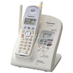 KX-TG2631W 2.4 GHz FHSS GigaRange? Digital Cordless Phone with Digital Answering
