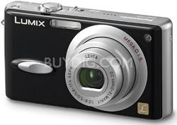 """DMC-FX8 (Black) Lumix Ultra-Compact 5 Megapixel Digital Camera w/ 2.5"""" LCD"""