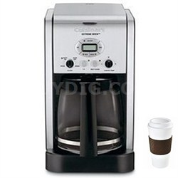 DCC-2650 - Brew Central 12-Cup Programmable Coffeemaker + Copco To Go Cup Bundle