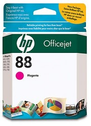 88 Magenta OfficeJet Ink Cartridge - 900 pages