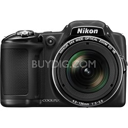 COOLPIX L830 16MP 34x Opt Zoom Digital Camera - Black