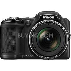 COOLPIX L830 16MP 34x Opt Zoom Digital Camera - Black