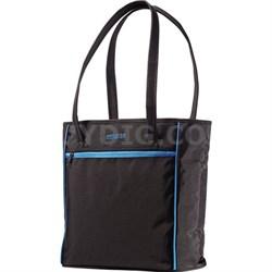 Black and Blue Skylite Shopper Bag