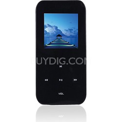 "4 GB MP3 Video Player with 1.5"" LCD, FM Radio, Recorder (Black)"