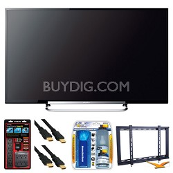 "KDL-70R520A 70"" LED 240Hz Internet HDTV Wall Mount Bundle"