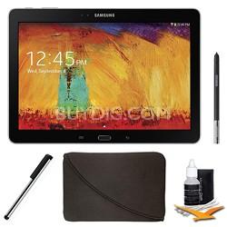 Galaxy Note 10.1 - 2014 Edition (16GB, WiFi, Black) Plus Accessory Bundle