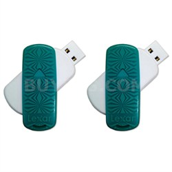 16GB JumpDrive S33 USB 3.0 Flash Drive 2-Pack - Bulk Packaged