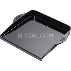 Glossy Enameled Plancha for Grills