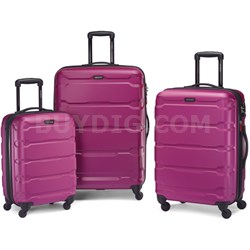 "Omni Hardside Luggage Nested Spinner Set (20""/24""/28"") Radiant Pink (68311-0596)"