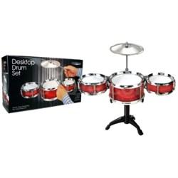 Premium Play Red Desktop Drum Set - OPEN BOX